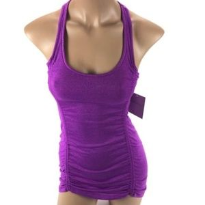 Beyond Yoga Women's Purple Athletic Exercise Tank